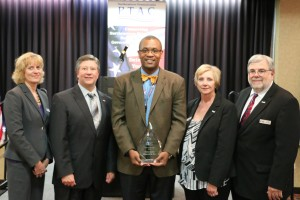 PTAC Client of the Year Ron Carter